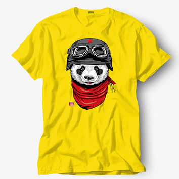 The happy adventurer of panda shirt, Starbucks shirt, Hot product on USA, Funny Shirt, Colour Black White Gray Blue Red