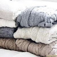 Oversized Mystery Hipster Sweaters   All Hipster Colors   All Grunge Patterns.