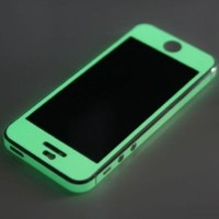 Glow in the Dark Full Cover Protector Shield Luminous Sticker for Iphone 5 5s