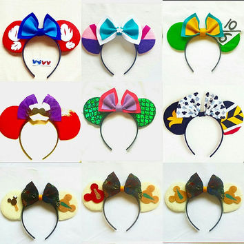 Custom Minnie Mickey Ears