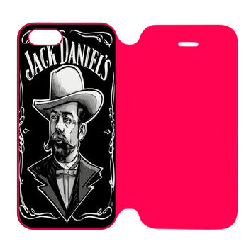 Jack Daniel by tshasteen iPhone 5 | 5S Flip Case Cover