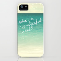 wonderful world iPhone & iPod Case by Sylvia Cook Photography