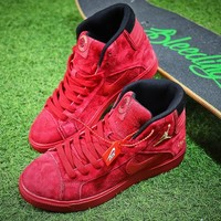 Supreme x Air Jordan CLOT Sport Shoes Red Sneakers - Best Online Sale
