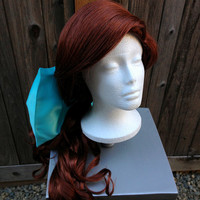 Anastasia Princess Wig with Bow Screen Quality Custom Couture Styled