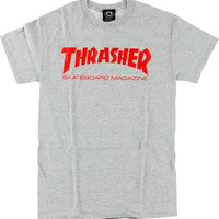 Thrasher Skate Mag Tee Large Heather/Red