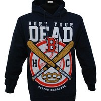 Bury Your Dead - Boston Hardcore Hoodie (Navy) | Firebrandstore - Hundreds of Music Merchandise and branded goods