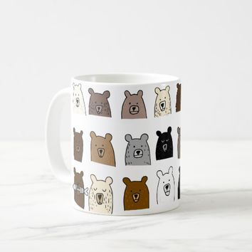 Bear Portraits Coffee Mug