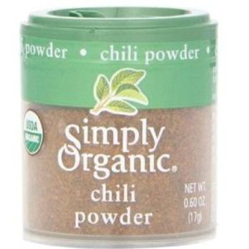 Simply Organic Mini Chili Powder Blend (6x.60 Oz)