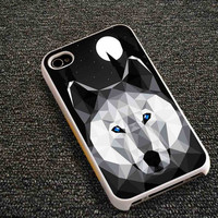 Wolf Geometric -  iPhone 6, iPhone 6+, samsung note 4, samsung note 3,iPhone 5C Case, iPhone 5/5S Case, iPhone 4/4S Case, Durable Hard Case