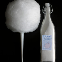 Artisan Cotton Candy Sugar (Mexican Vanilla Flavor- Pure White)