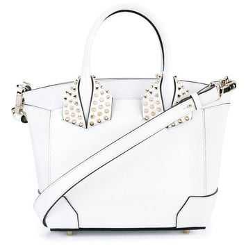 Eloise Leather Studded Tote Bag - CHRISTIAN LOUBOUTIN