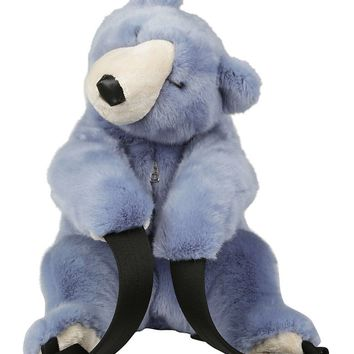 Blue Bear Backpack by Dolce & Gabbana