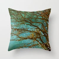 Magical Throw Pillow by Violet D'Art | Society6