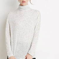 Marled Turtleneck Top