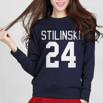 Wolf Stiles NOVELTY Teen 24 Women Jumper Cotton Harajuku Hoodies For Lady 2017 Fashion Funny Hip Hop Sweatshirt
