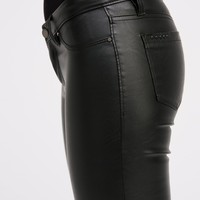 Free People Blacked Out Vegan Pant