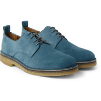 AMI - Crepe-Soled Suede Derby Shoes | MR PORTER