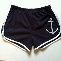 Anchors Away short shorts  S M L