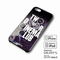 Two Door Cinema Club iPhone case 4/4s, 5S, 5C, 6, 6 +, Samsung Galaxy case S3, S4, S5, Galaxy Note Case 2,3,4, iPod Touch case 4th, 5th, HTC One Case M7/M8