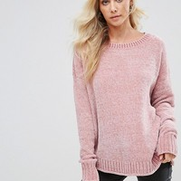 Boohoo Chenille Jumper at asos.com