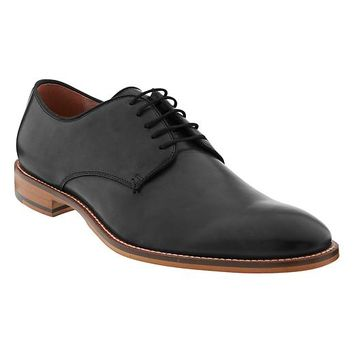 Banana Republic Mens Jeremy Italian Leather Oxford