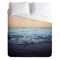 Leah Flores Crash Into Me Duvet Cover