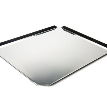 Fox Run 4852 Cookie Sheet Stainless Steel 12-Inch x 14-Inch Cookie Sheet, Stainless Steel, 12-Inch x 14-Inch