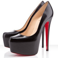 Christian Louboutin Daffodile 160mm Simple Leather Pump - $179