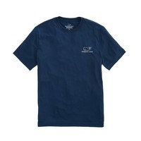 Short-Sleeve Vintage Whale Performance T-Shirt
