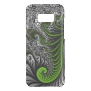 Fantasy World Green And Gray Abstract Fractal Art Get Uncommon Samsung Galaxy S8 Plus Case