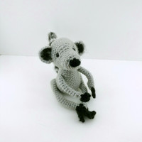 Lemur, amigurumi, crochet doll, handmade, animal