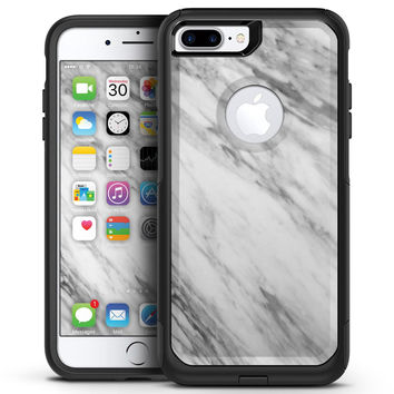 Slate Marble Surface V10 - iPhone 7 or 7 Plus Commuter Case Skin Kit