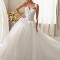 Blu by Mori Lee 5216 Ball Gown Wedding Dress