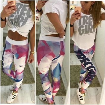 Print Hot Sale Alphabet Yoga Pants Sportswear [11809516431]