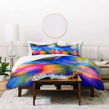 Viviana Gonzalez Textures Abstract 20 Duvet Cover