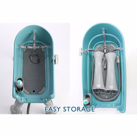 """Booster Bath Elevated Pet Bathing Extra Large Teal 50"""" x 21.25"""" x 15"""""""