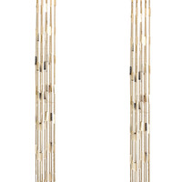 Lara Fringe Maxi Earrings