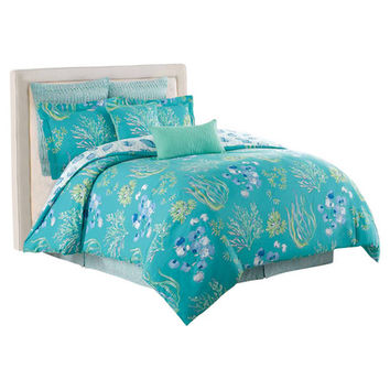 You should see this Beachcomber Comforter Set in Aqua on Daily Sales!
