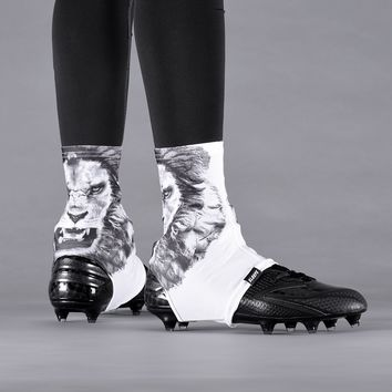 White Lion Spats / Cleat Covers