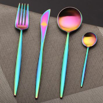 Prismware Silverware 4 Piece Set
