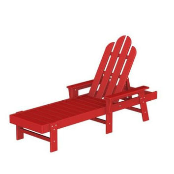 Lounge Chair - Candy Apple Red