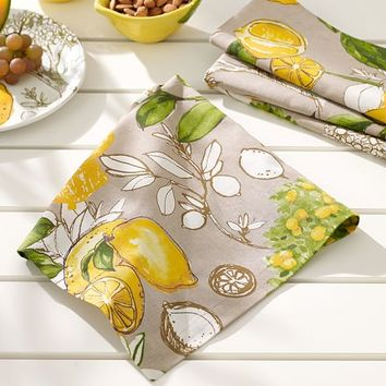Lemon Branch Napkin, Set of 4