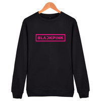 2017 bts kpop kpop clothes Korean brand clothing Sweatshirt Men/women Jennie Kim Rose LISA bts Album Mens Hoodies sweatshirts