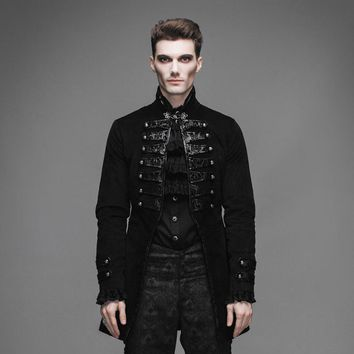 Devil Fashion Gothic Vintage Noble Men Victorian Jackets