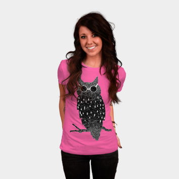 Cool Bird T Shirt By Marianna Tankelevich T Shirt By Bunnynoir Design By Humans