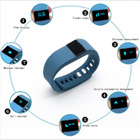 NewTW64 Smartband Smart bracelet Wristband Fitness tracker Bluetooth 4.0 fitbit flex Watch for ios android better than mi band