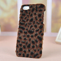 Cool Soft Leopard Hard Cover Case For Iphone 4/4s/5 from NewYorkscene