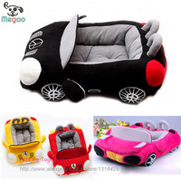 Dog Car Beds Detachable PP Cotton Padded Small House Waterproof Bottom Puppy Sofa