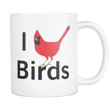 I Heart Birds - 11oz. Mug