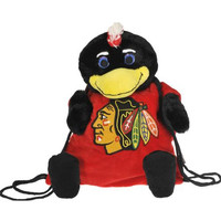 Chicago Blackhawks NHL Plush Mascot Backpack Pal